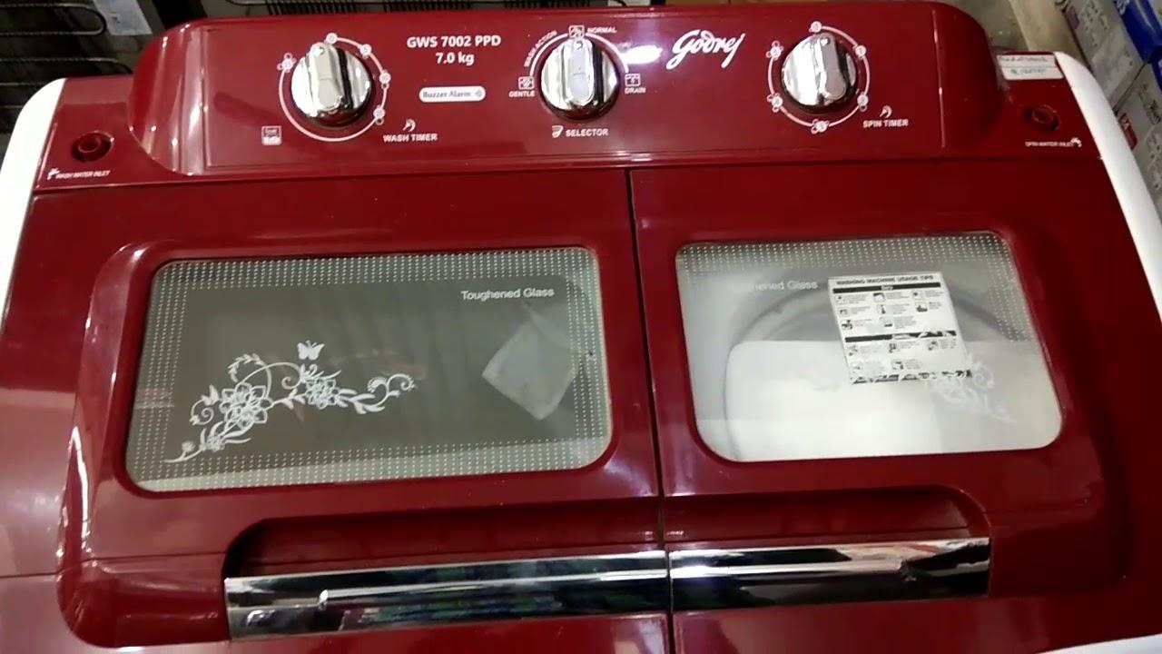 godrej washing machine semi automatic 7 kg review [ 1280 x 720 Pixel ]