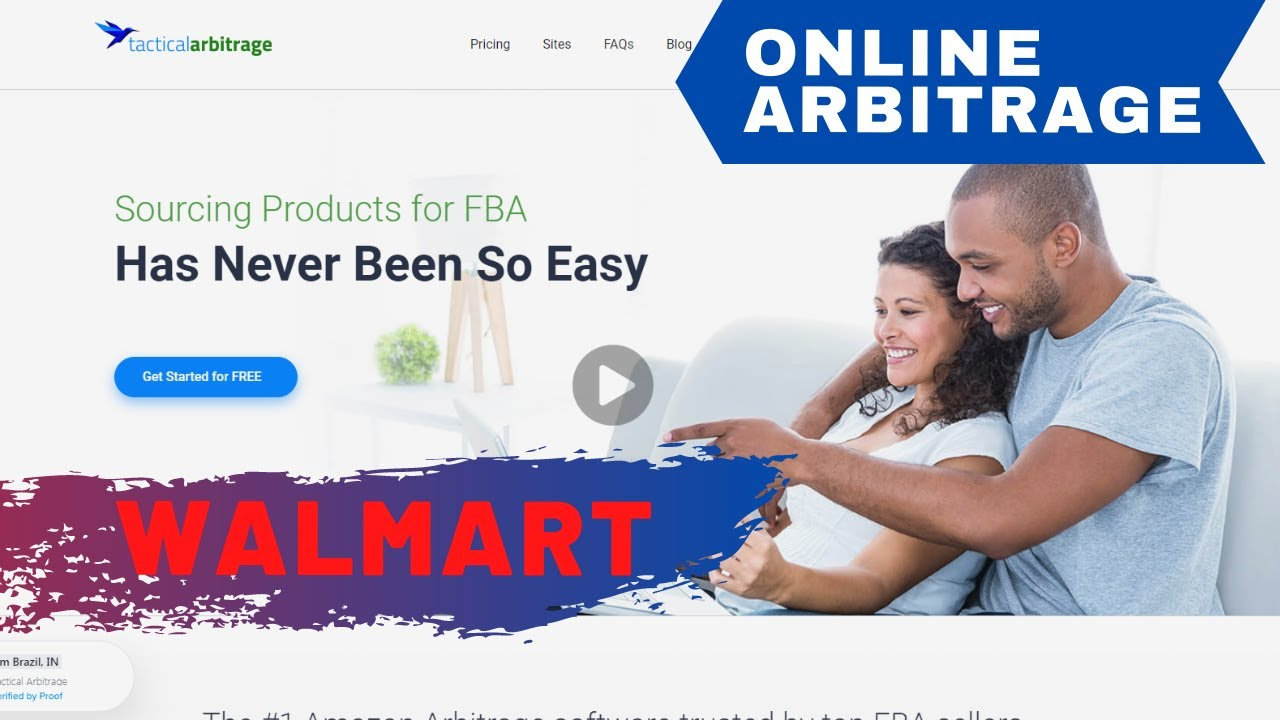 Download Tactical Arbitrage 2020 - Online Arbitrage At Walmart