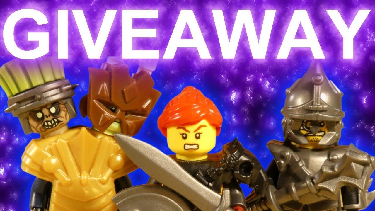 !!! GIVEAWAY !!! + LEGO SKYLOR BATTLE