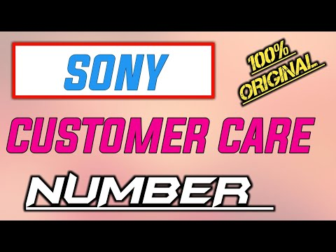 Sony Customer Care Number 2019 | Sony Helpline Number INDIA