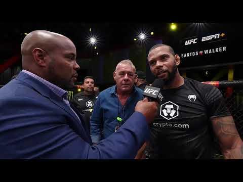 UFC Вегас 38: Тиаго Сантос - Слова после боя