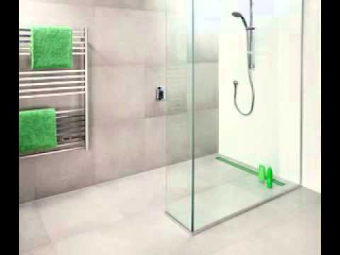Wet room bathroom design youtube