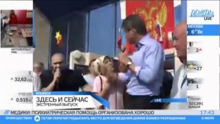 Потоп в Крымске и клоунада от губернатора ткачёва(ох как виляет,как жид на говне,нехочет место теплое потерять,за такое только отставка., 2012-07-08T20:55:01.000Z)