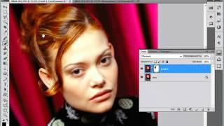 Как сделать гладкую кожу в Photoshop CS5