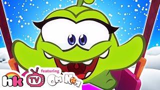 Om Nom Stories: Om Nelle Compilation | Funny Cartoons for Kids | HooplaKidz TV