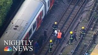 London Terror Attack  Massive Manhunt Underway   NBC Nightly News