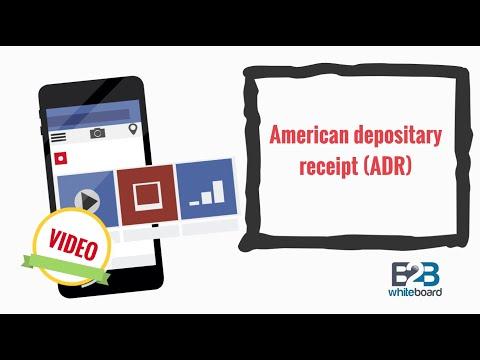 American depositary receipt (ADR)