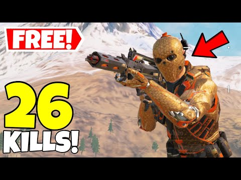 *NEW* FREE RUIN INDUSTRIAL REVOLUTION SKIN GAMEPLAY IN CALL OF DUTY MOBILE BATTLE ROYALE!