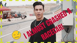 Ray Diaz - I almost crashed a race car *CLICK BAIT*