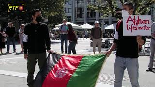 Solidaritätskundgebung in Reutlingen für Menschen aus Afghanistan