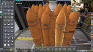 Kerbal Space Program - Livestream - Too Many Mods....