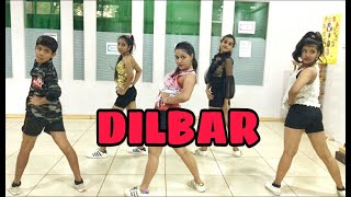 DILBAR DILBAR - (DANCE COVER) CHOREOGRAPHY BY SANDY SHARATH ACHARYA
