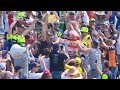 #BestBikeMoment MotoGP German GP: Moment C - Marc Marquez celebrates with fans on the grandstand