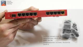 Видеообзор MikroTik RB2011iLS-IN