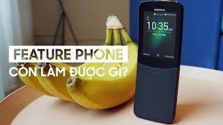 Mua Nokia 8110 4G thì làm được gì?phát wifi, lướt web, chơi game