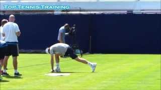 Andy Murray Doing Yoga