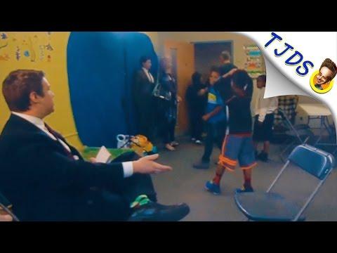 Republican Congressman Flips Out During Interview At Grammar School