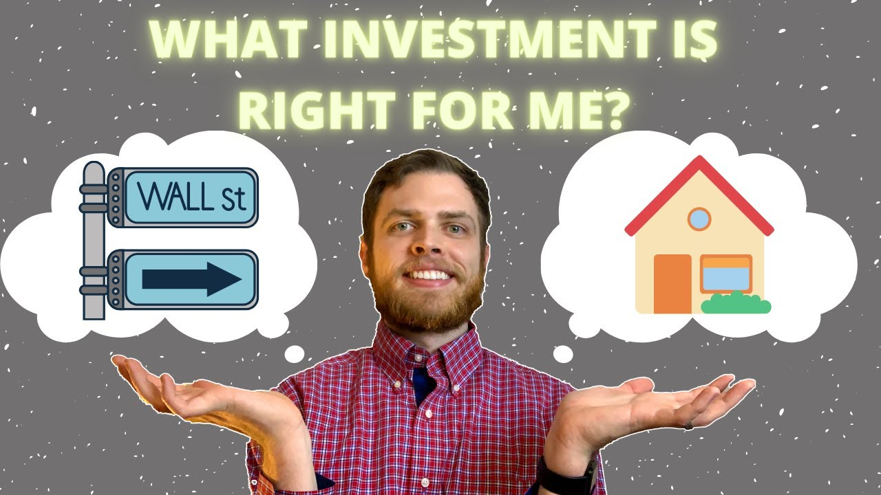 What Investment is Right for You?