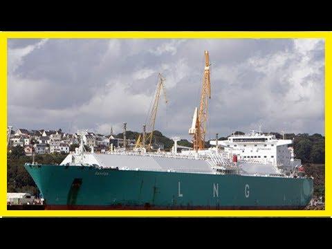 Mystery as Russian gas tanker makes U-TURN as it nears US waters