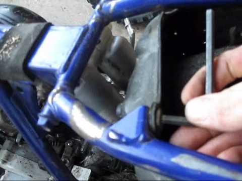 Yamaha Golf Cart Oil In Airbox