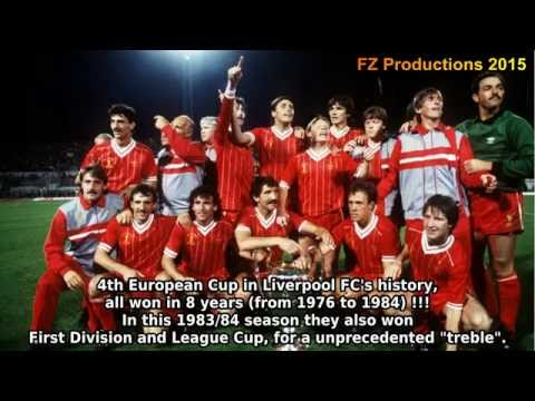 1983-1984 European Cup: Liverpool FC All Goals (Road to Victory)