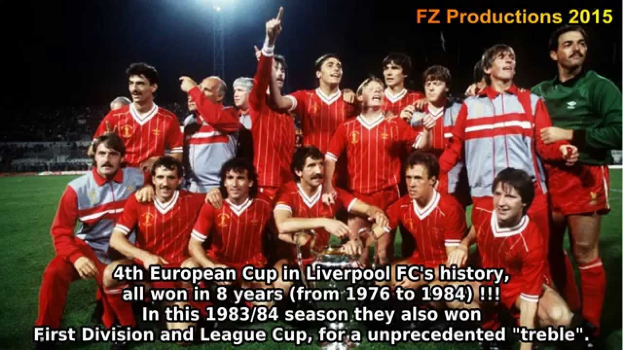 1983 1984 European Cup Liverpool FC All Goals Road To Victory