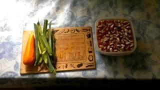 приготовление фасоли в мультиварке