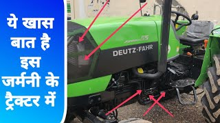 DEUTZ FAHR Agroluxx 55 tractor full feature & specification price with review d