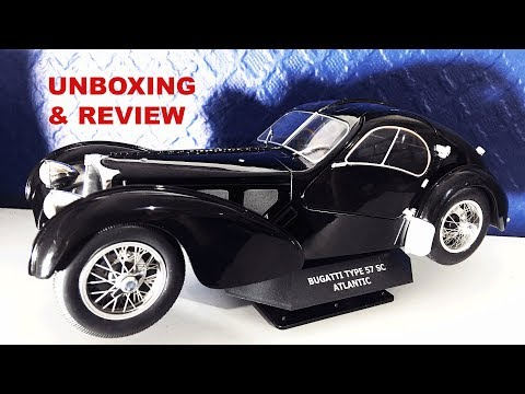 Bugatti type 57 sc atlantic unboxing and review | sketchingfineart