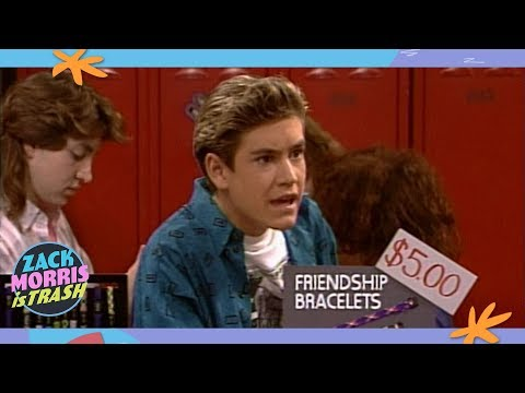The Time Zack Morris Used Slave Labor To Sell Friendship Bracelets
