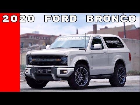 2020 Ford Bronco Announcement At Detroit Auto Show NAIAS 2017