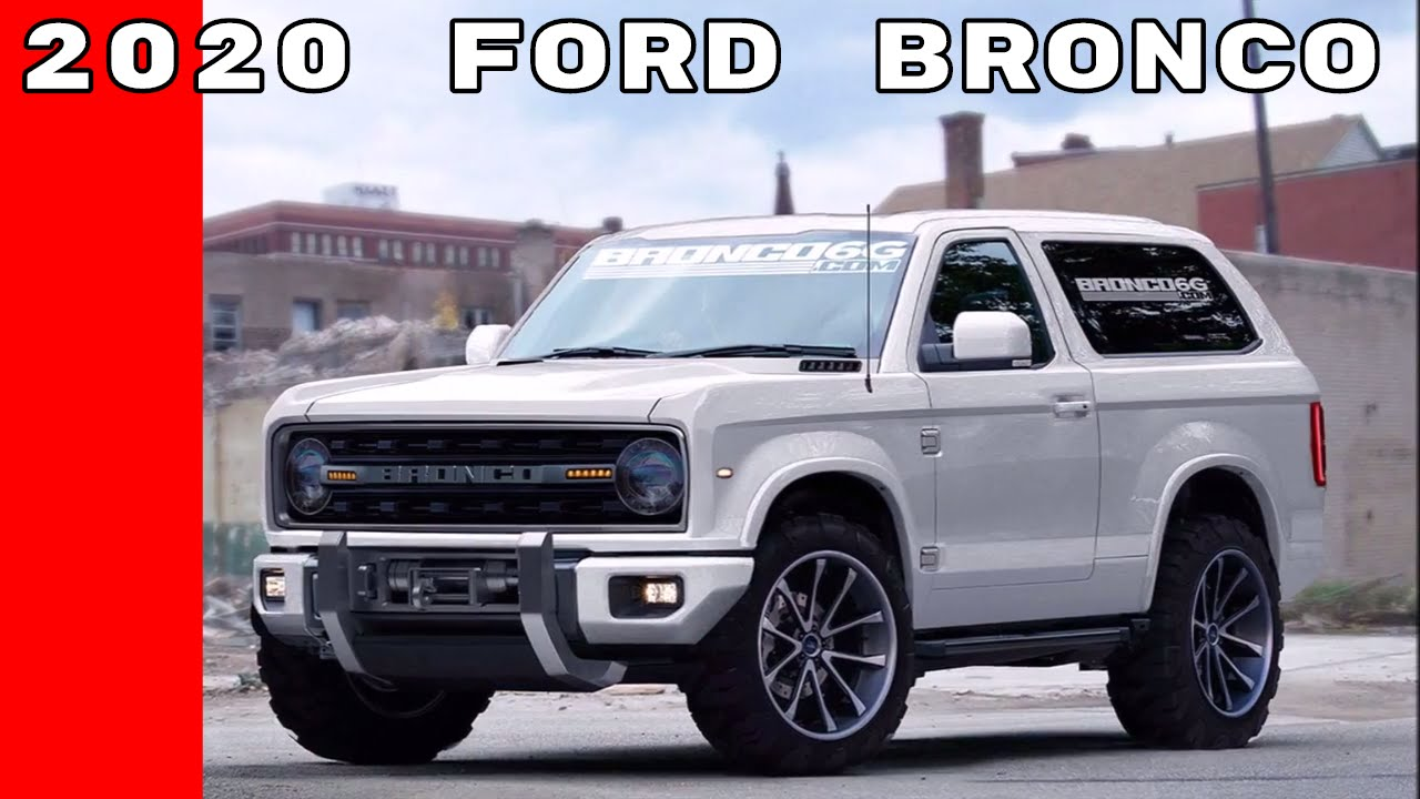 2020 Ford Bronco Announcement At Detroit Auto Show NAIAS