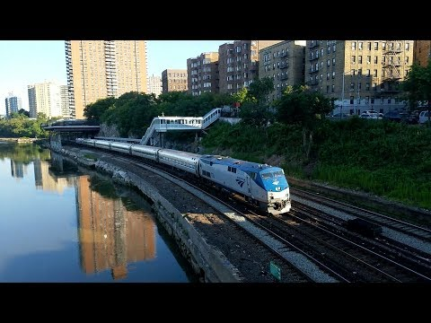 First Amtrak to Grand Central Terminal