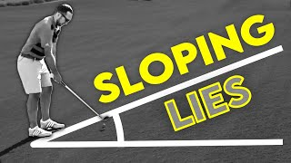 YOU NEED to know THIS from sloping lies - Course Management Vlog - Ayla Golf Club