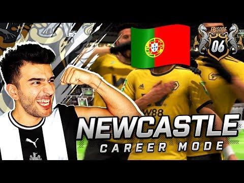 BREAKING THE CURSE & PORTUGUESE WONDERKID - FIFA 19 NEWCASTLE CAREER MODE 6