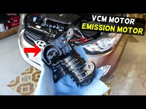 HOW TO REPLACE VCM MOTOR Demonstrated on HYUNDAI ELANTRA