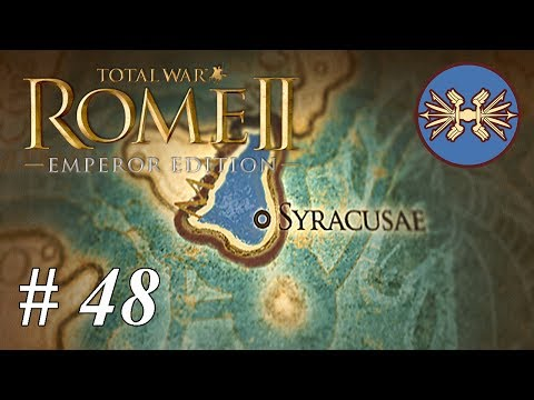 Let's play Total War: Rome II - Syracuse: Part 48 The End Of Nova Carthago