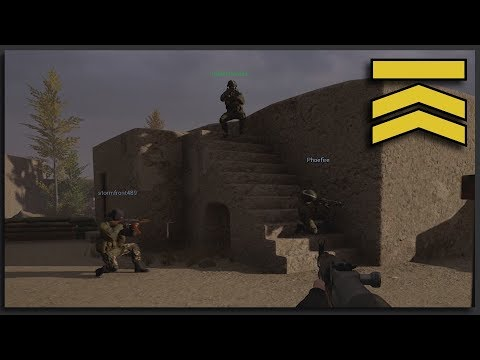 1-Life Mortar Defense - Tactical Multiplayer Realism Squad Gameplay (Squad Ops Squad Full game)