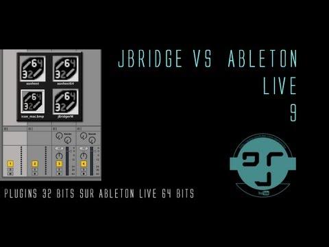 JBridge vs Ableton live 9 : Vst 32 vers 64 bits