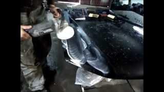 Как правильно убрать подтек на автомобильной краске.(Убираем подтек на автомобильной краске., 2013-04-03T19:40:32.000Z)
