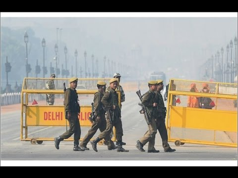 Tight Security In Delhi Ahead Of Republic Day