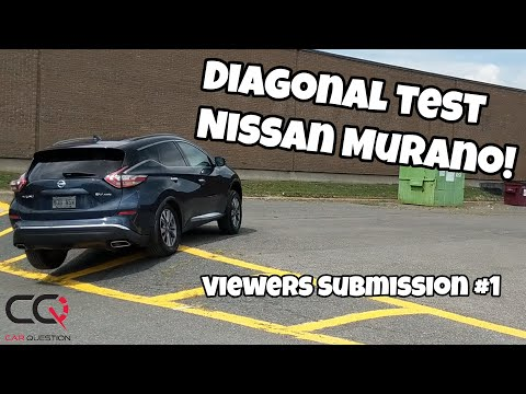 Nissan Murano AWD diagonal test | Viewers Submission #1
