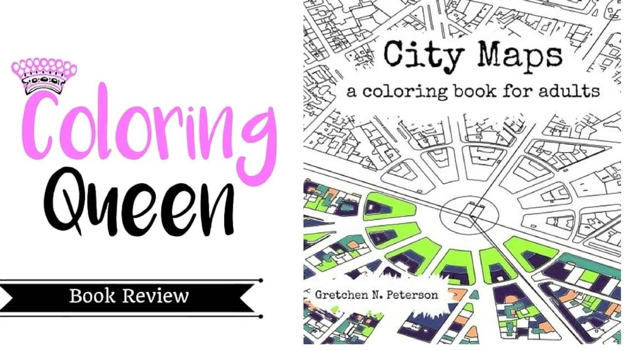City Maps Coloring Book Review