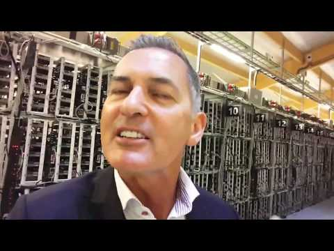 CEO Bill Rowell visiting the largest Altcoin Mining Farms in Iceland