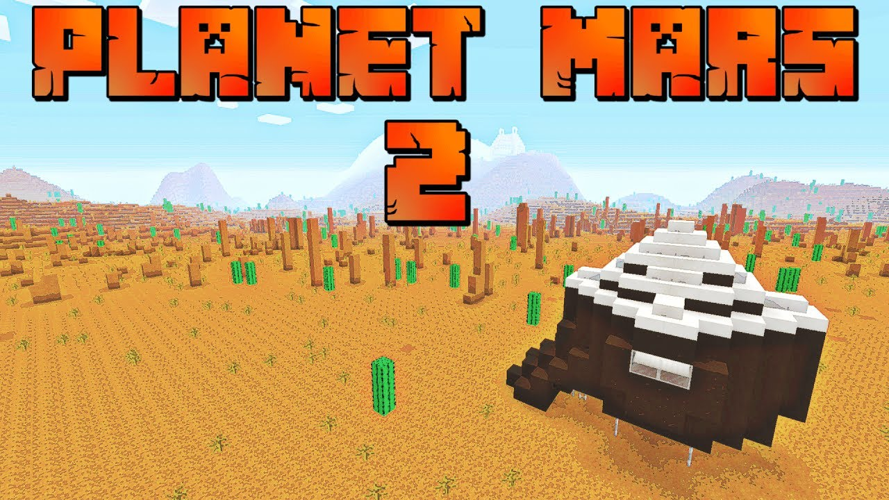 Minecraft: Planet Mars 2 Console Map W/Download