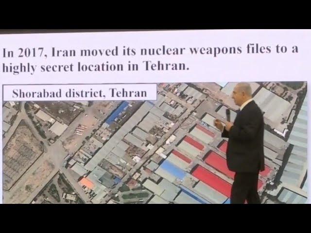 Israeli Prime Minister Benjamin Netanyahu says Iran covering up nuclear program