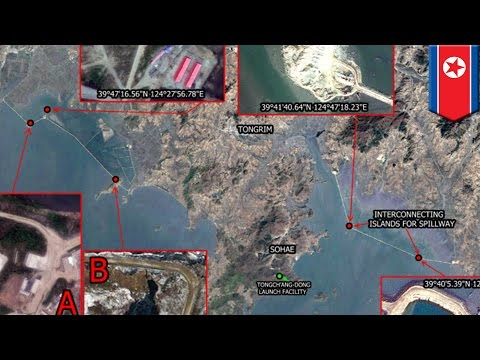 North Korea building artificial islands in Yellow sea, captured by satellite images - TomoNews