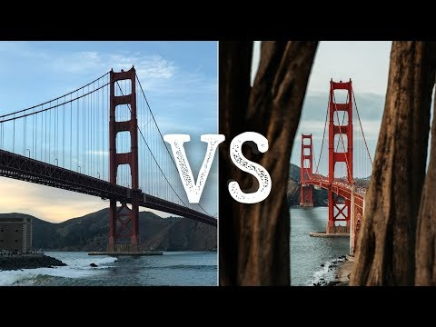 TOURIST VS PRO PHOTOGRAPHER