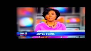 Fox 29 Promo w/ Joyce Evans