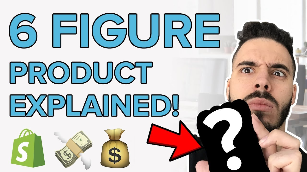 REVEALING A 6-FIGURE SHOPIFY DROPSHIPPING PRODUCT!